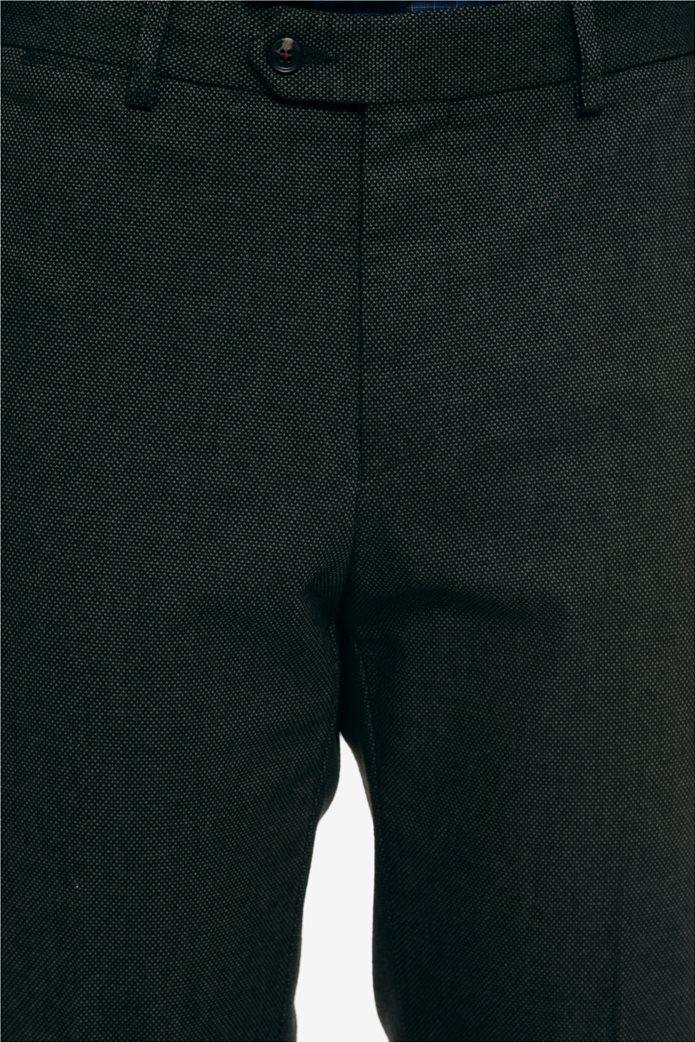 The Bostonians ανδρικό παντελόνι με ανάγλυφη υφή slim fit 3