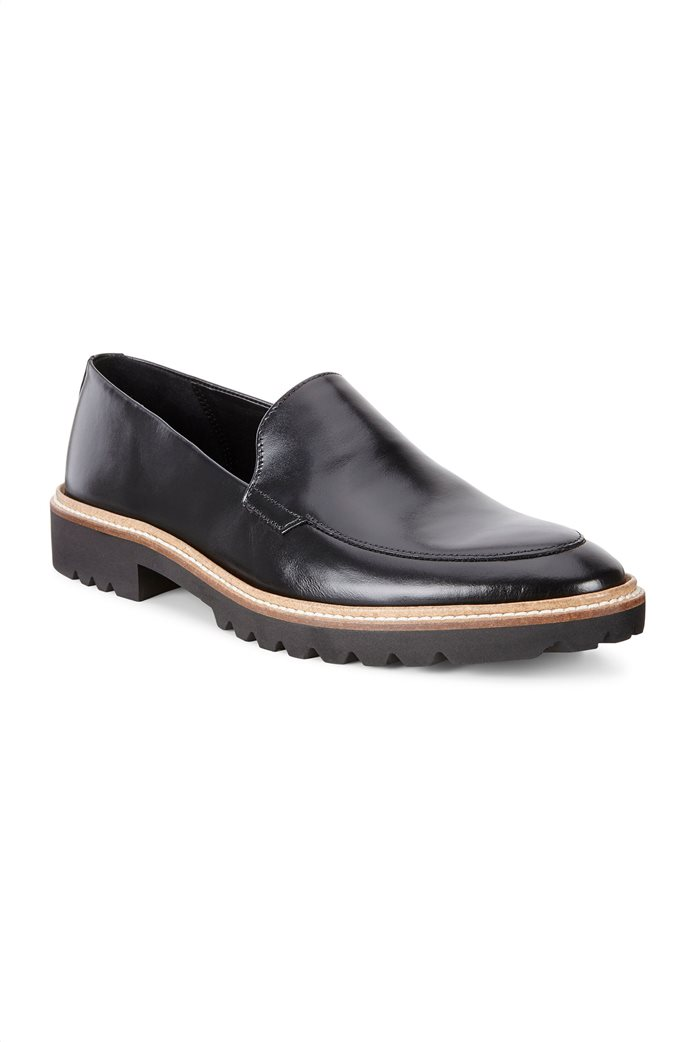 ΕCCO γυναικεία παπούτσια loafers Incise Tailored Μαύρο 0
