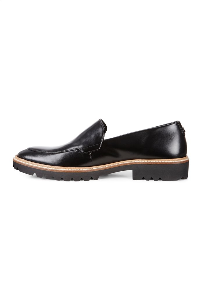 ΕCCO γυναικεία παπούτσια loafers Incise Tailored Μαύρο 1