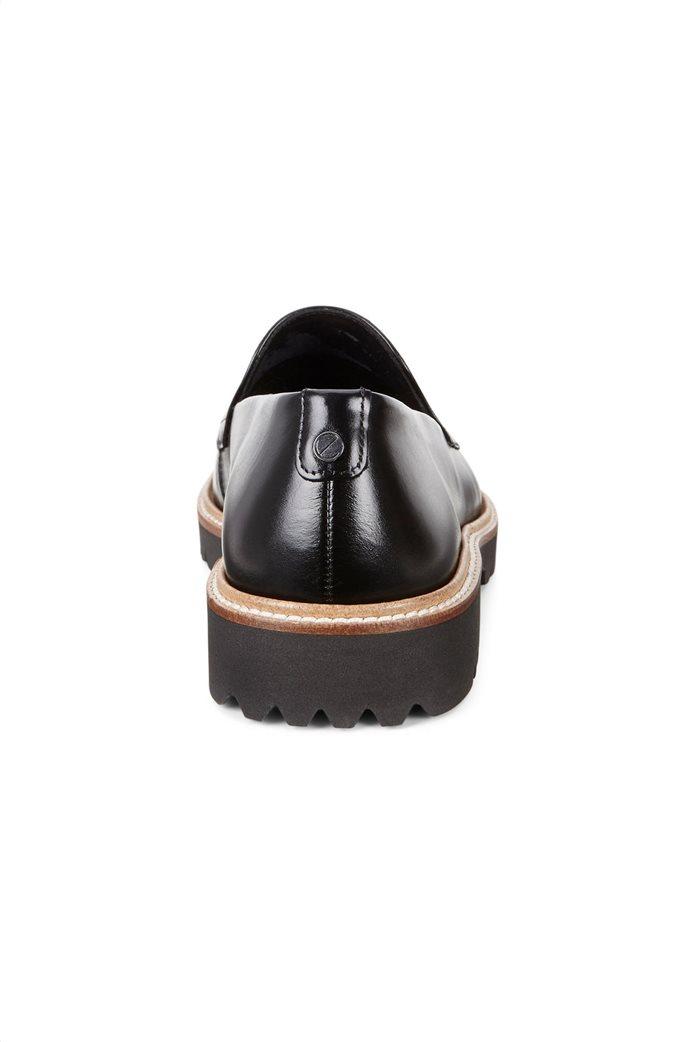 ΕCCO γυναικεία παπούτσια loafers Incise Tailored Μαύρο 2