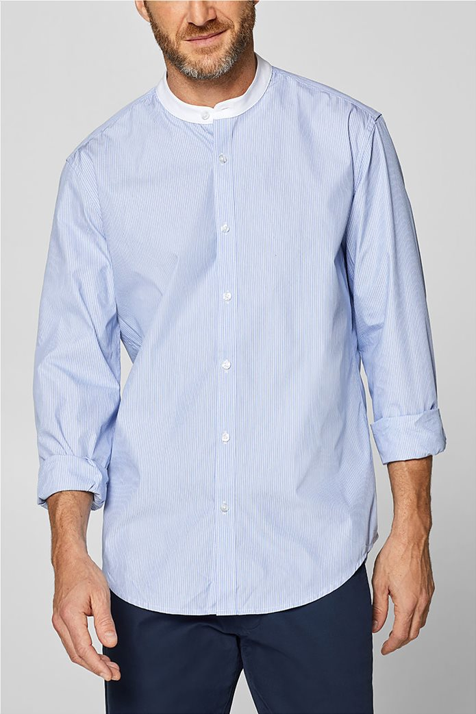 Esprit ανδρικό ριγέ πουκάμισο με τεχνολογία COOLMAX® 0