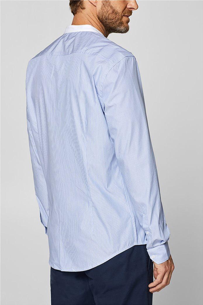 Esprit ανδρικό ριγέ πουκάμισο με τεχνολογία COOLMAX® 3