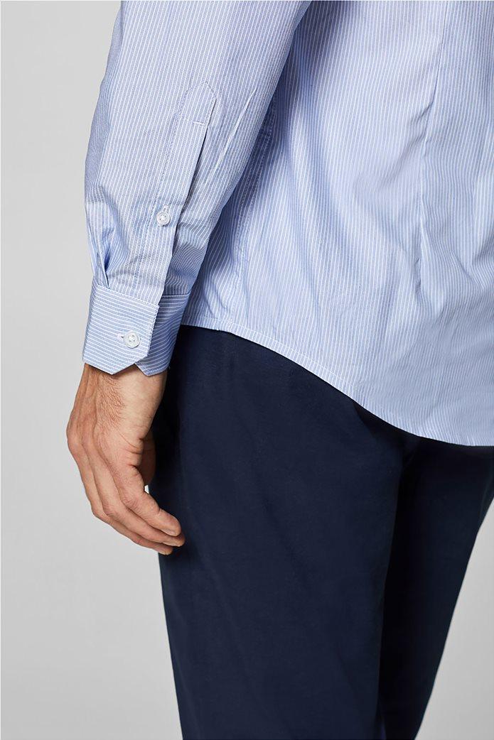 Esprit ανδρικό ριγέ πουκάμισο με τεχνολογία COOLMAX® 4