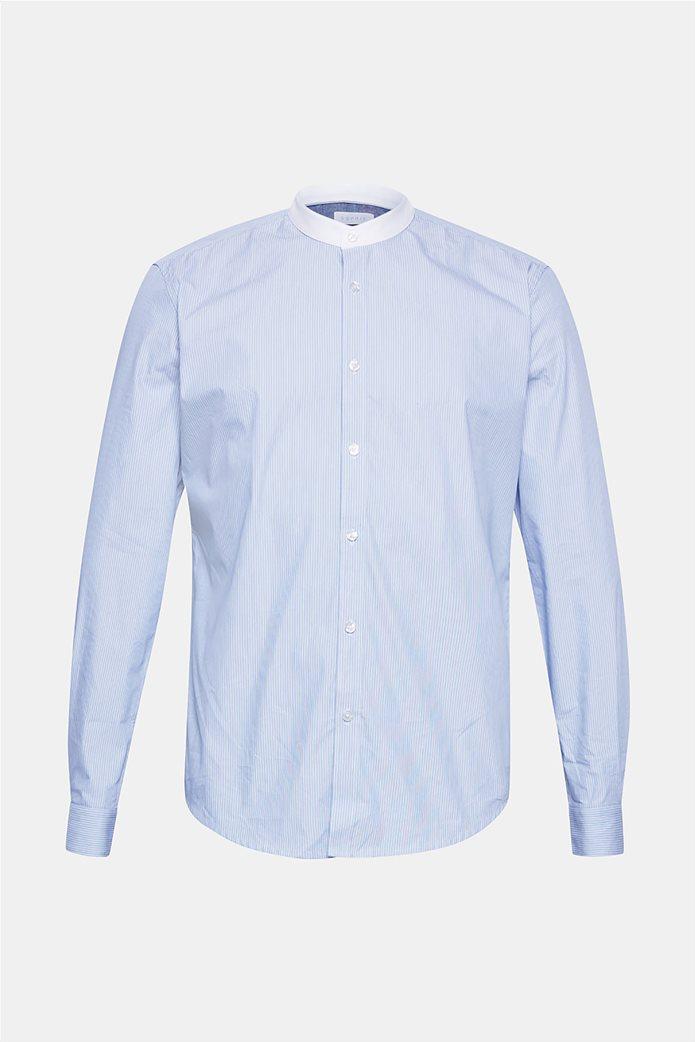 Esprit ανδρικό ριγέ πουκάμισο με τεχνολογία COOLMAX® 6