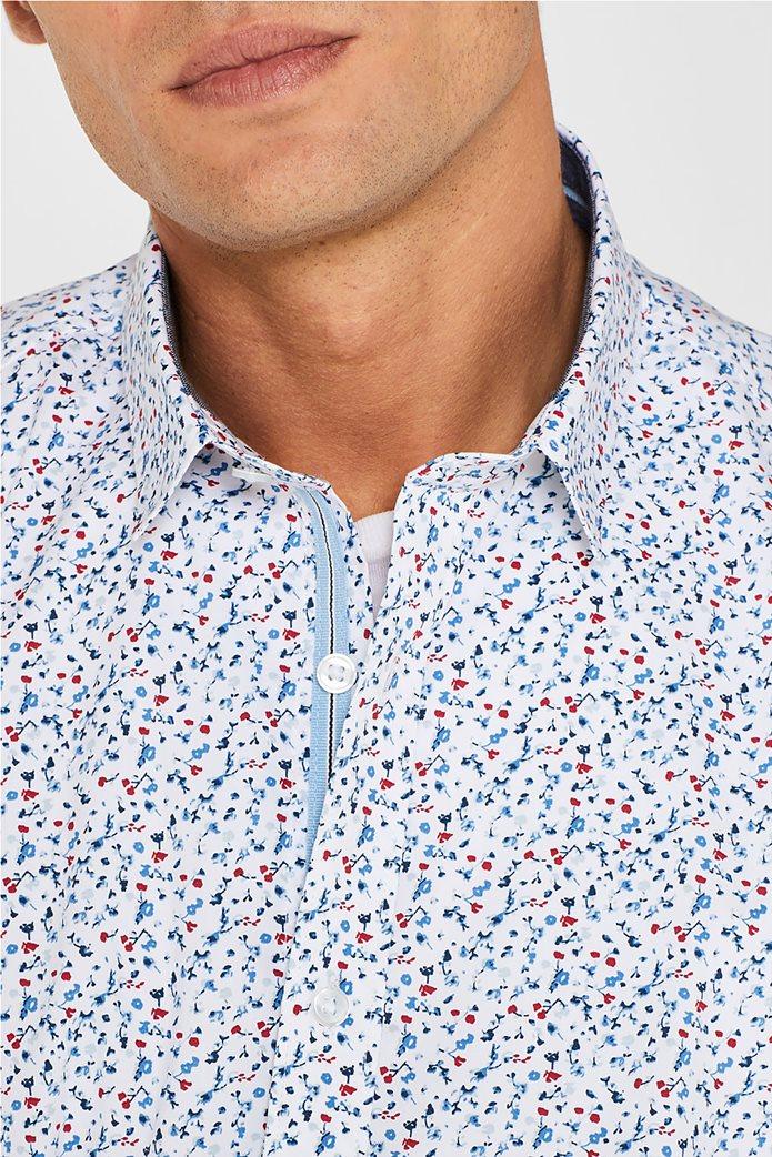 Esprit ανδρικό πουκάμισο με all over print 1