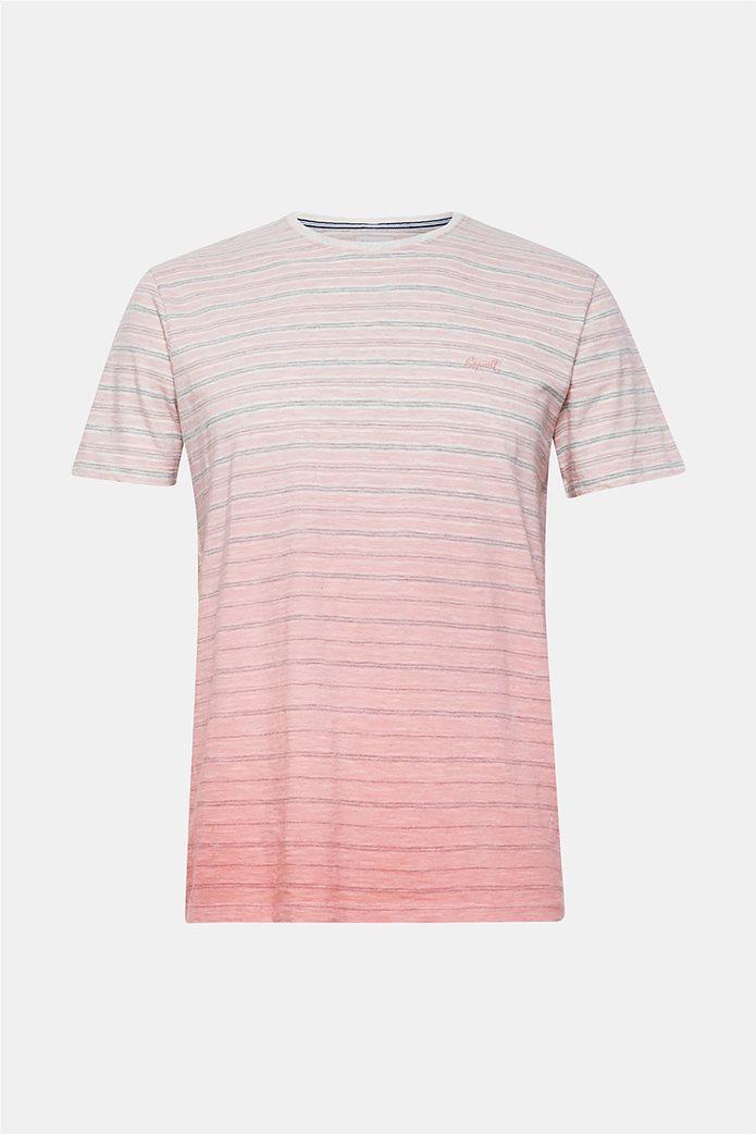 Esprit ανδρικό ριγέ ντεγκραντέ T-shirt 3