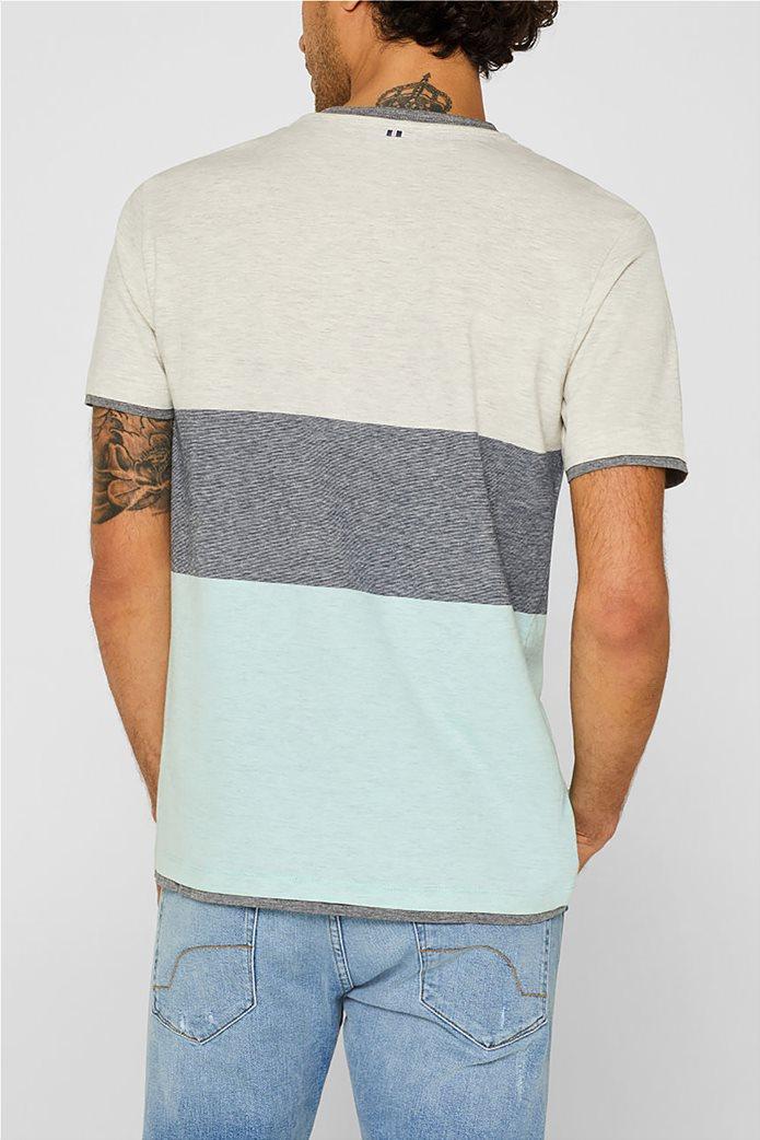 Esprit ανδρικό colourblock T-shirt 2