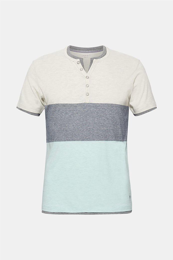 Esprit ανδρικό colourblock T-shirt 3
