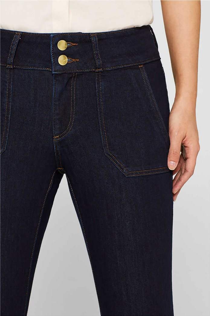 Εsprit γυναικείο τζην παντελόνι καμπάνα 32L 3
