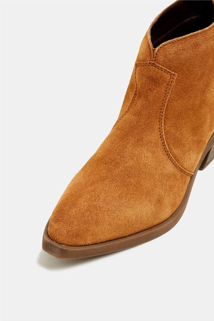 Εsprit γυναικεία suede μποτάκια Cowboy style 4