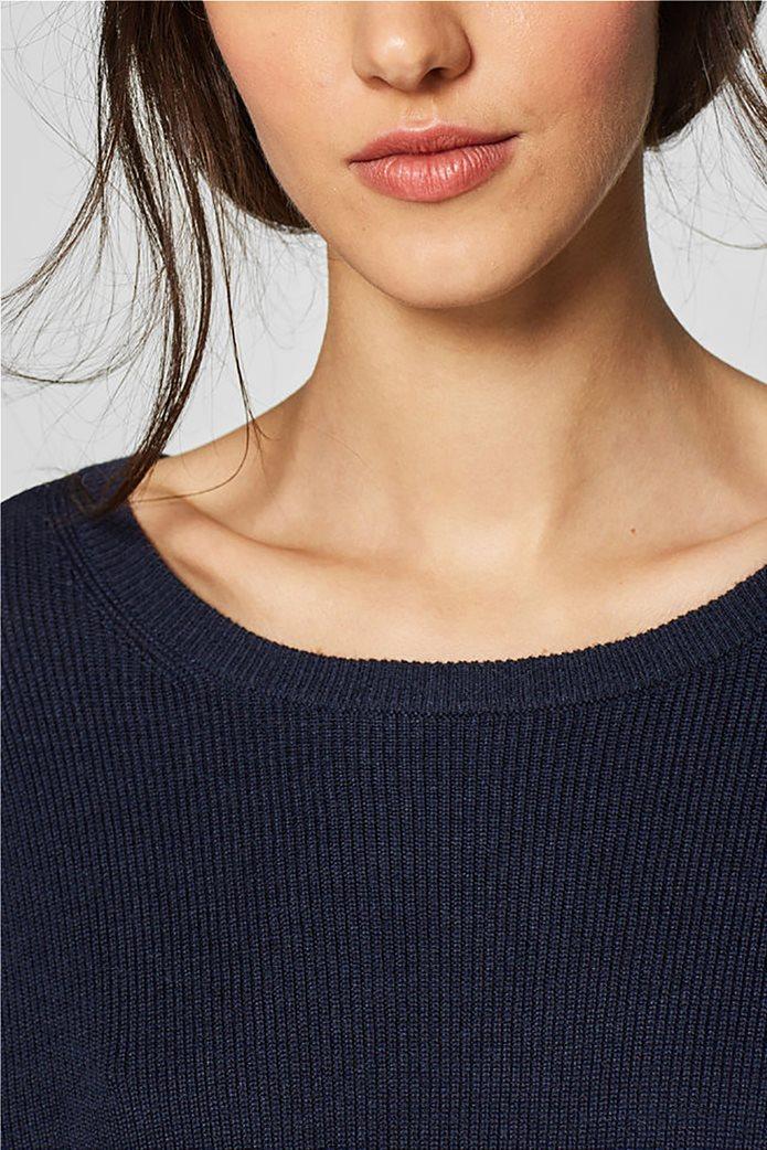 Esprit γυναικεία πλεκτή μπλούζα με φιόγκο στην πλάτη 6