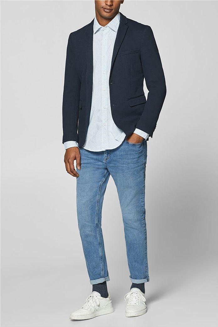Esprit ανδρικό πουκάμισο με all-over print και τεχνολογία COOLMAX® 1