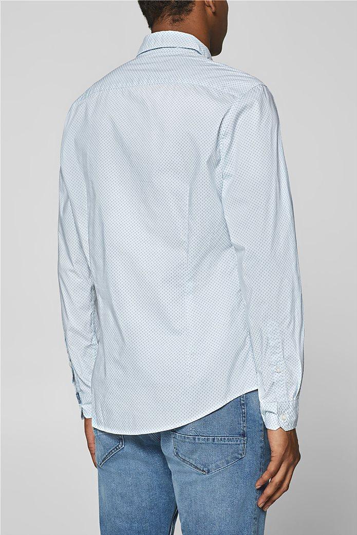 Esprit ανδρικό πουκάμισο με all-over print και τεχνολογία COOLMAX® 3