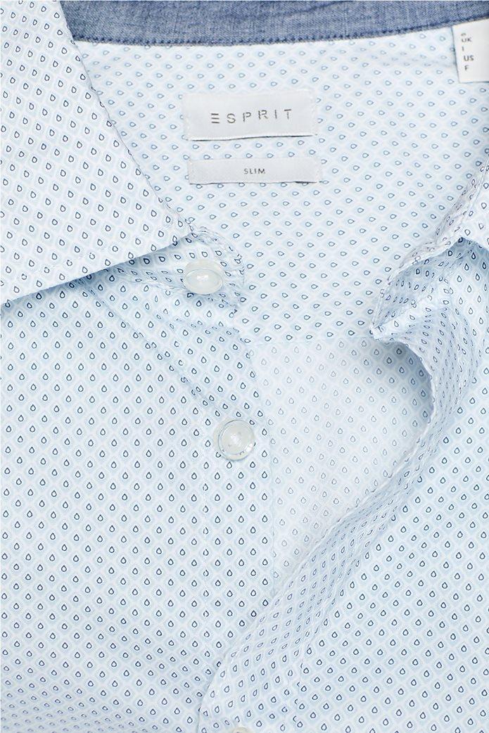 Esprit ανδρικό πουκάμισο με all-over print και τεχνολογία COOLMAX® 4