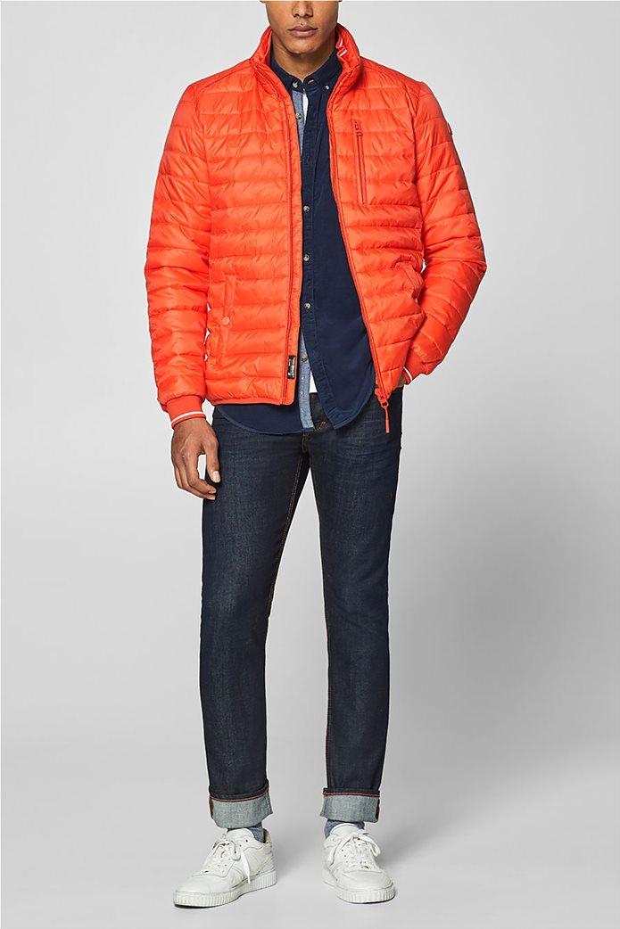 Esprit  ανδρικό μπουφάν καπιτονέ με τεχνολογία 3M® Thinsulate Πορτοκαλί 0