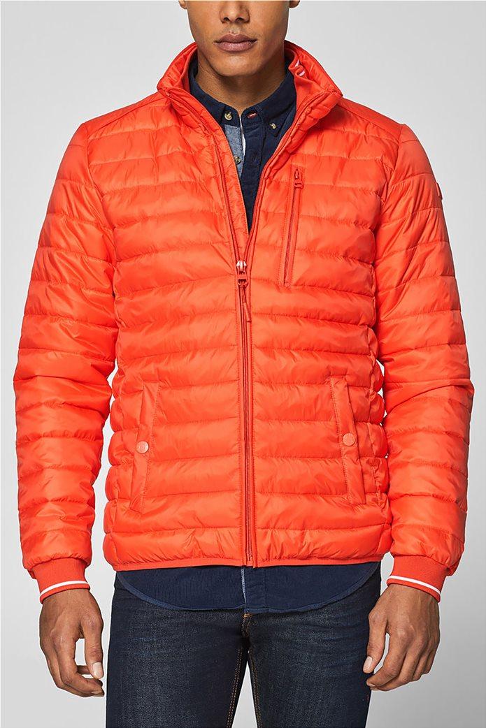 Esprit  ανδρικό μπουφάν καπιτονέ με τεχνολογία 3M® Thinsulate Πορτοκαλί 1