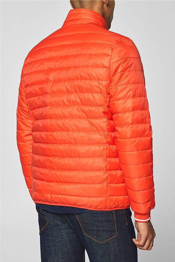 Esprit  ανδρικό μπουφάν καπιτονέ με τεχνολογία 3M® Thinsulate Πορτοκαλί 3