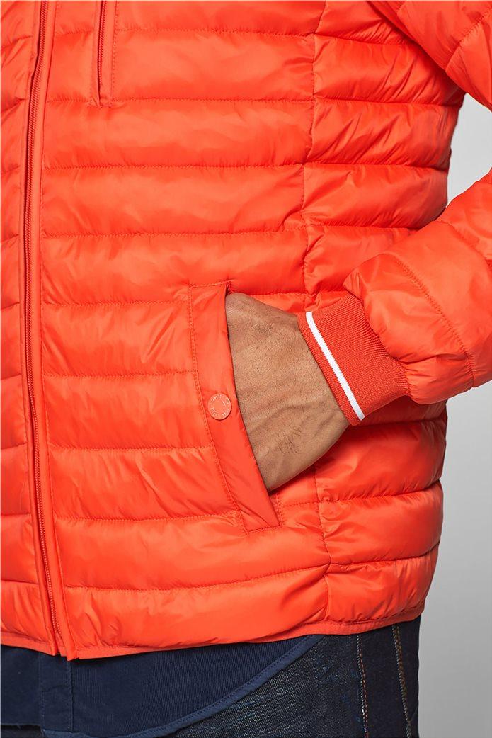 Esprit  ανδρικό μπουφάν καπιτονέ με τεχνολογία 3M® Thinsulate Πορτοκαλί 4