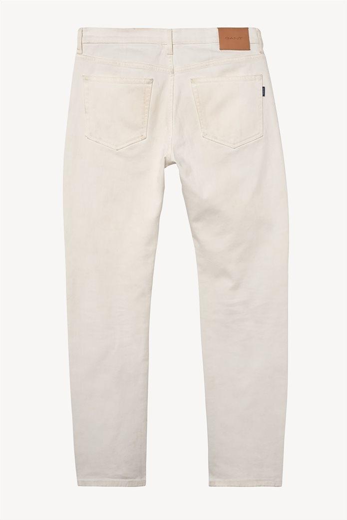 Gant ανδρικό jean παντελόνι Slim fit (34L) 3