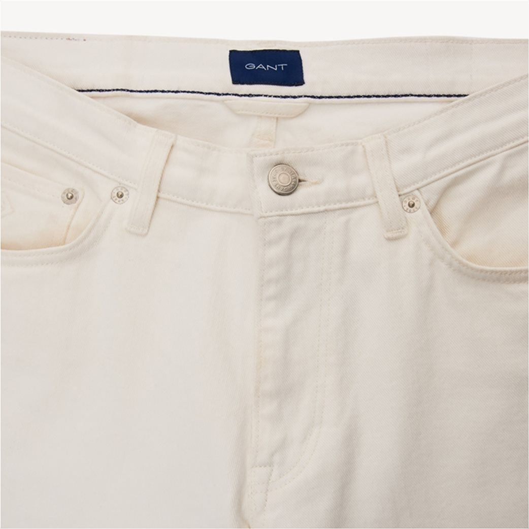 Gant ανδρικό jean παντελόνι Slim fit (34L) 4
