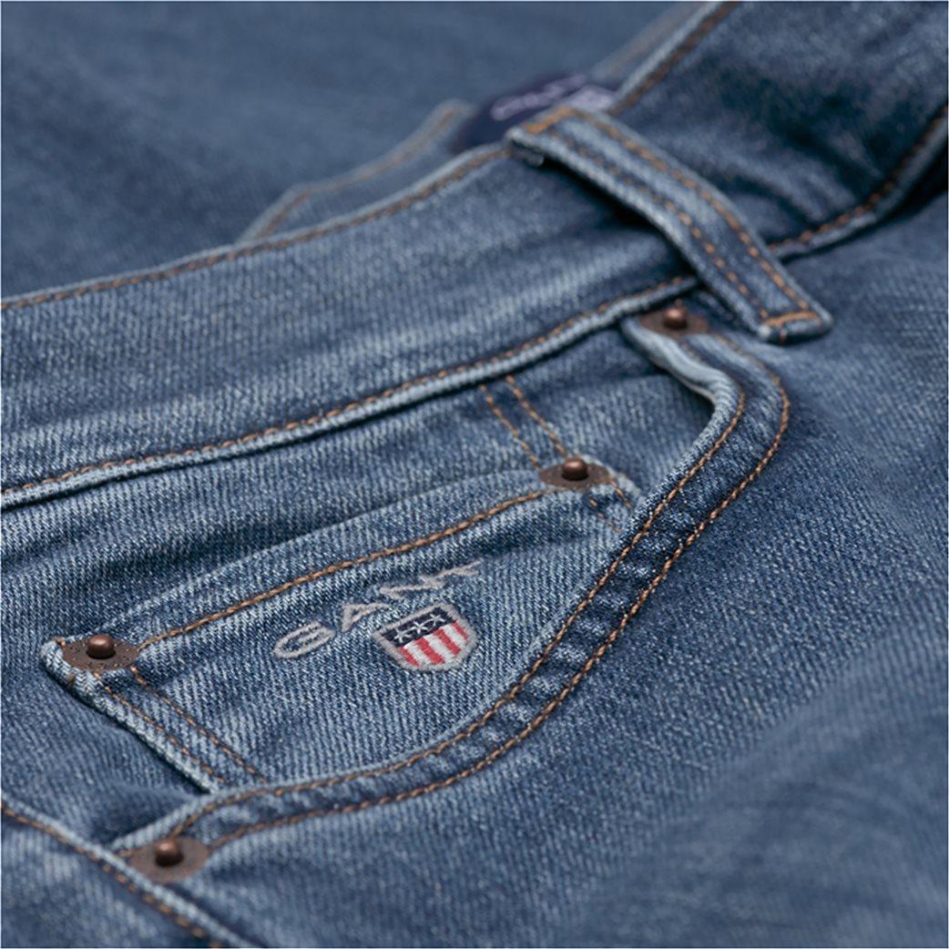 Gant ανδρικό παντελόνι τζην Slim Straight (36L) 1