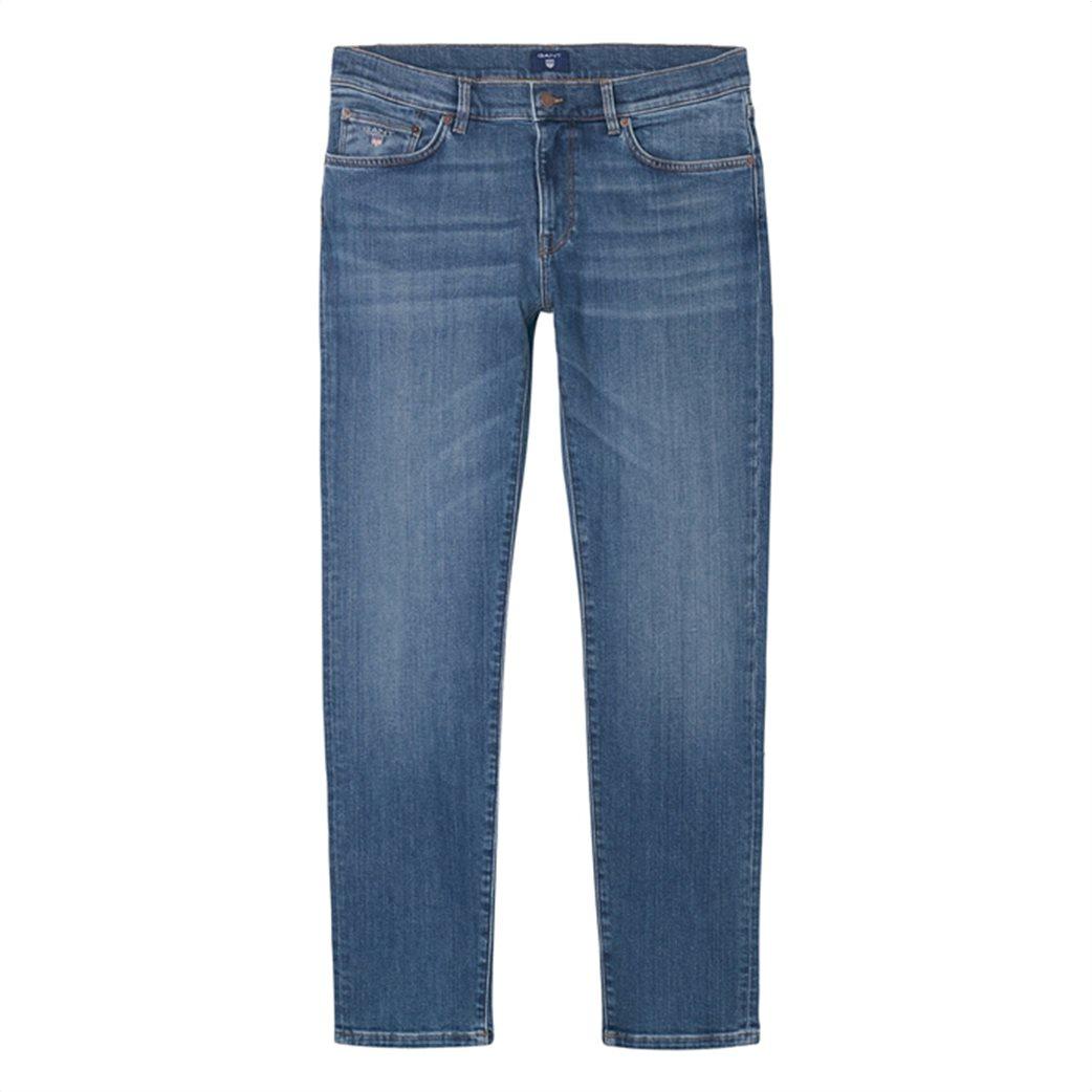 Gant ανδρικό παντελόνι τζην Slim Straight (36L) 3