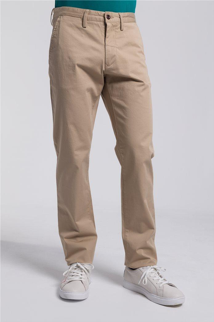 Gant ανδρικό παντελόνι chino Regular Fit Twill (34L) 4