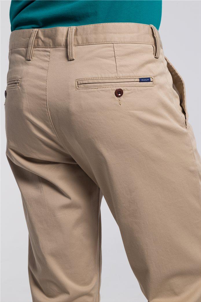 Gant ανδρικό παντελόνι chino Regular Fit Twill (34L) 5