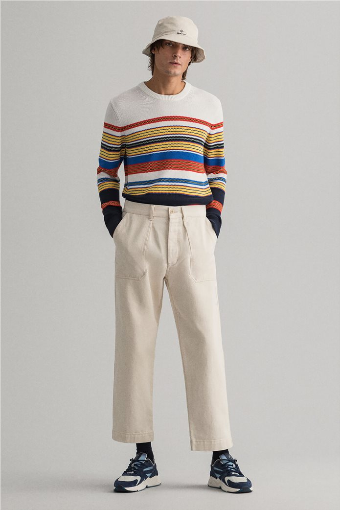 Gant ανδρική πλεκτή μπλούζα με ριγέ σχέδιο 3