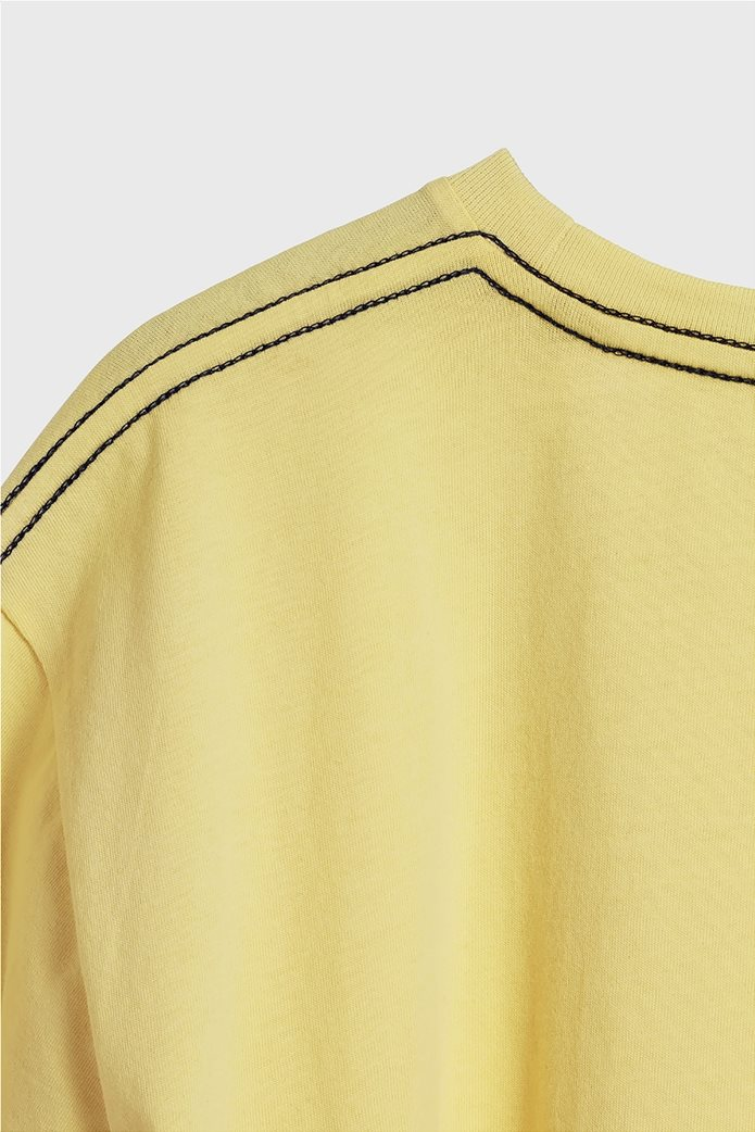 Gant παιδικό T-shirt μονόχρωμο με μεγάλο logo 2