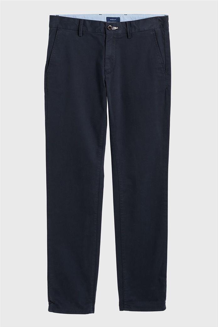 Gant παιδικό υφασμάτινο παντελόνι Chino Μπλε Σκούρο 0