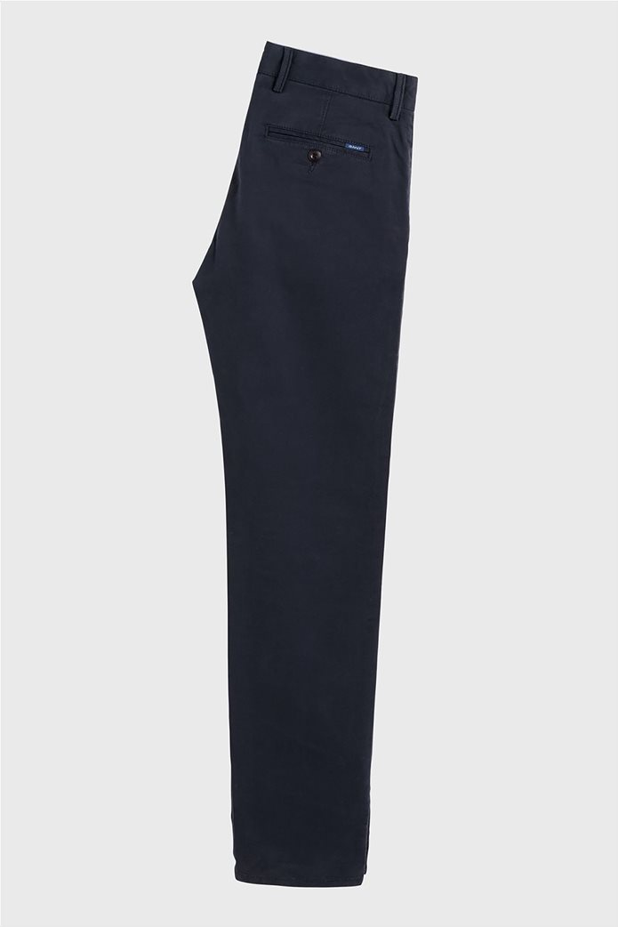 Gant παιδικό υφασμάτινο παντελόνι Chino Μπλε Σκούρο 1