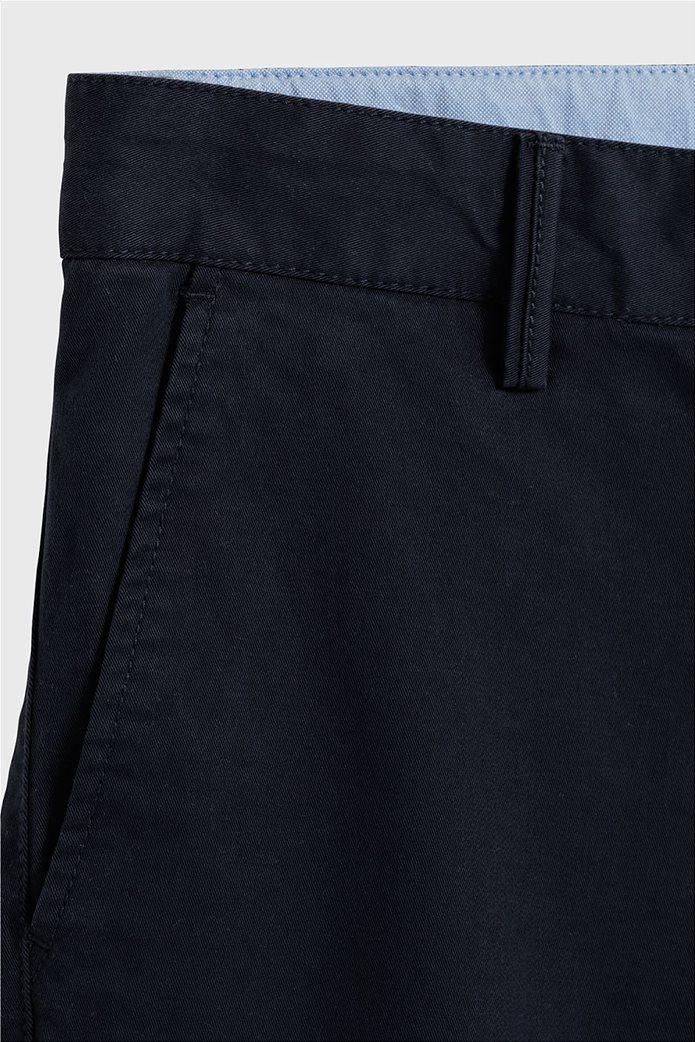 Gant παιδικό υφασμάτινο παντελόνι Chino Μπλε Σκούρο 2