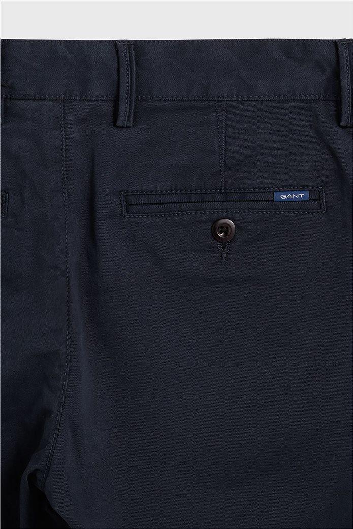 Gant παιδικό υφασμάτινο παντελόνι Chino Μπλε Σκούρο 3