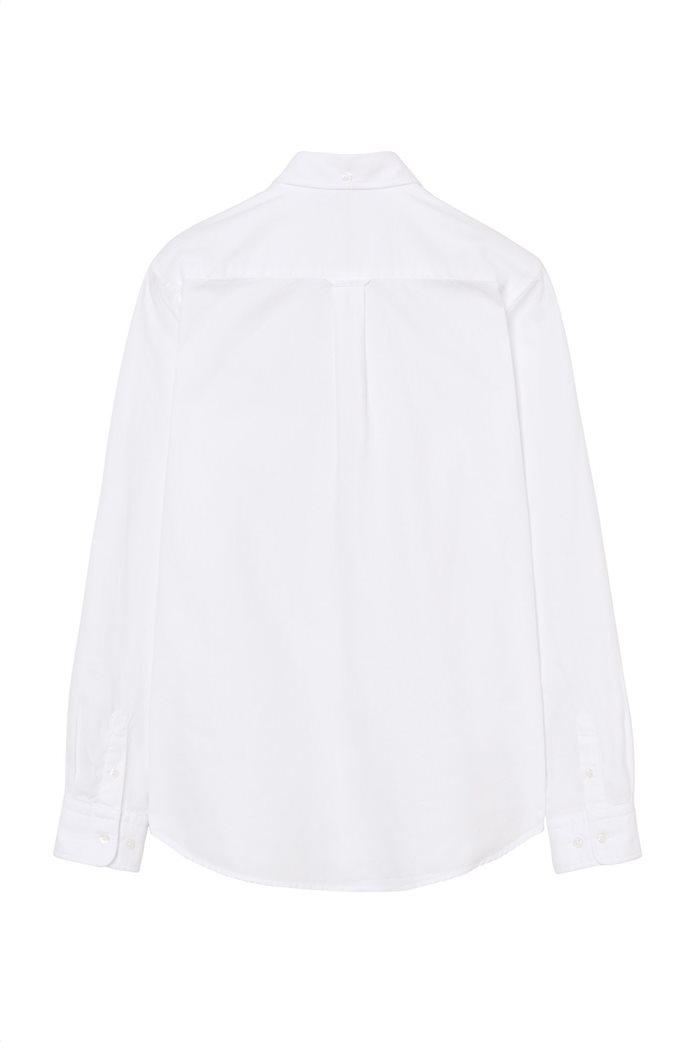 Gant παιδικό μονόχρωμο πουκάμισο 2