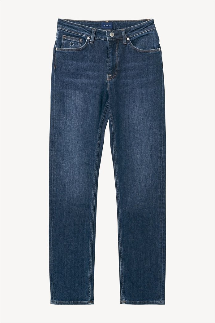 Gant γυναικείο τζην παντελόνι slim (32L) Μπλε Σκούρο 1