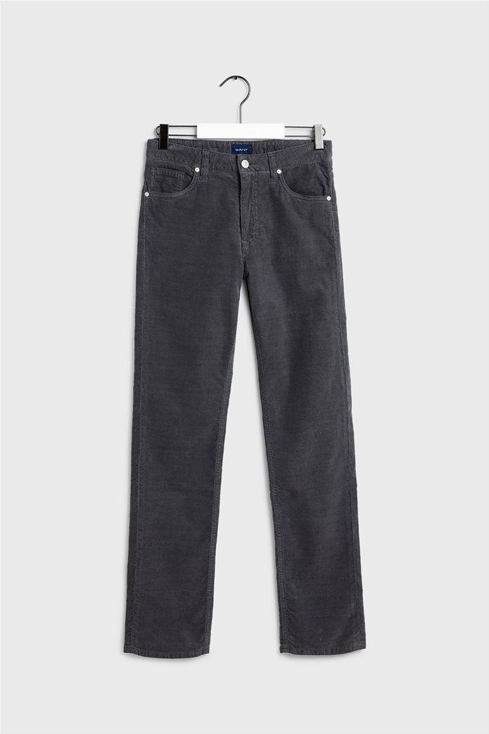 Gant γυναικείο παντελόνι κοτλέ Slim Fit Cord 0