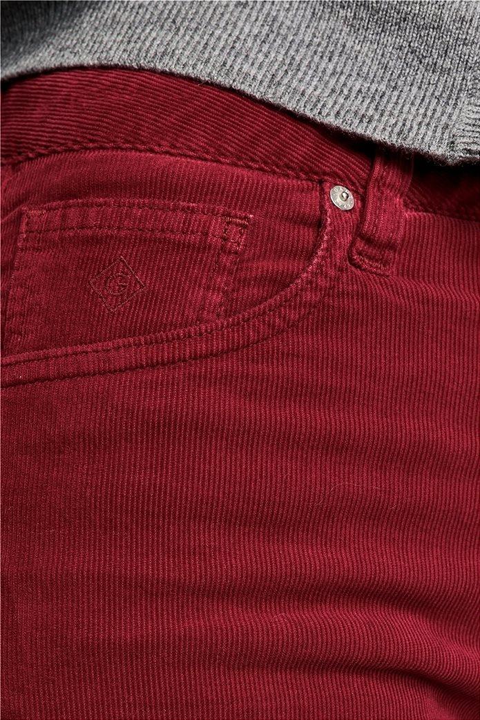 Gant γυναικείο παντελόνι κοτλέ Slim Fit Cord 3