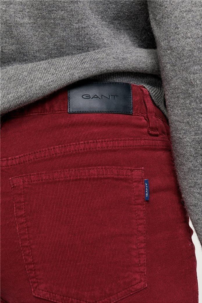 Gant γυναικείο παντελόνι κοτλέ Slim Fit Cord 4