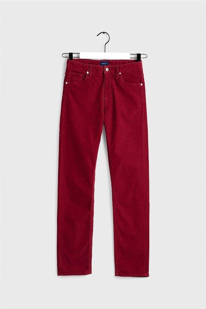Gant γυναικείο παντελόνι κοτλέ Slim Fit Cord 5