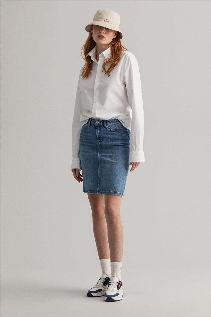 Gant γυναικεία denim φούστα πεντάτσεπη 0