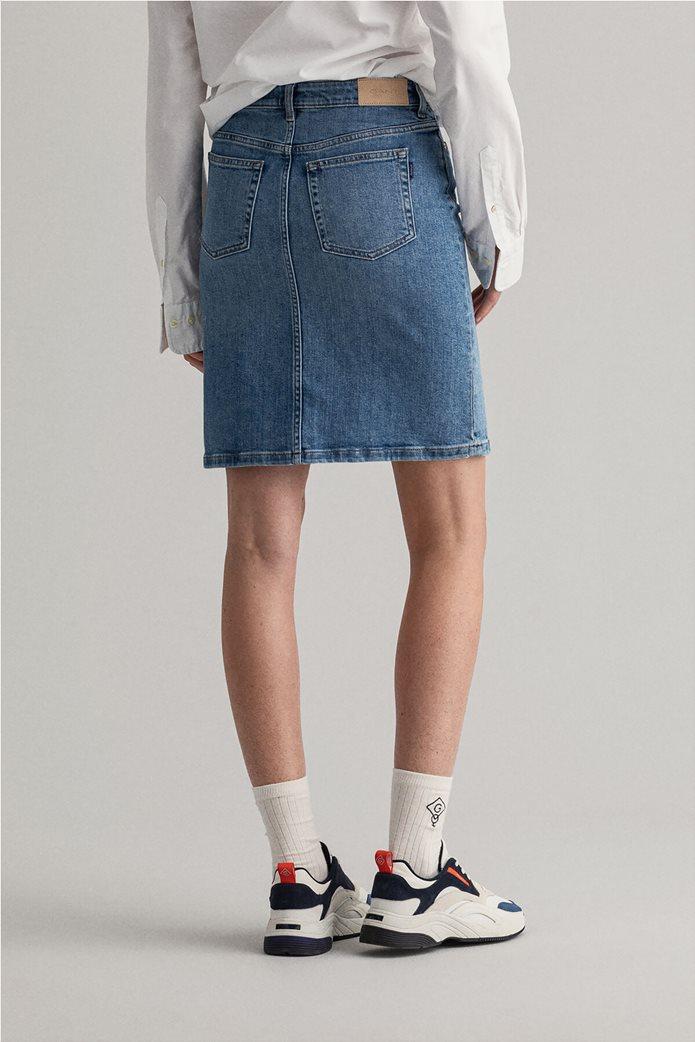 Gant γυναικεία denim φούστα πεντάτσεπη 3