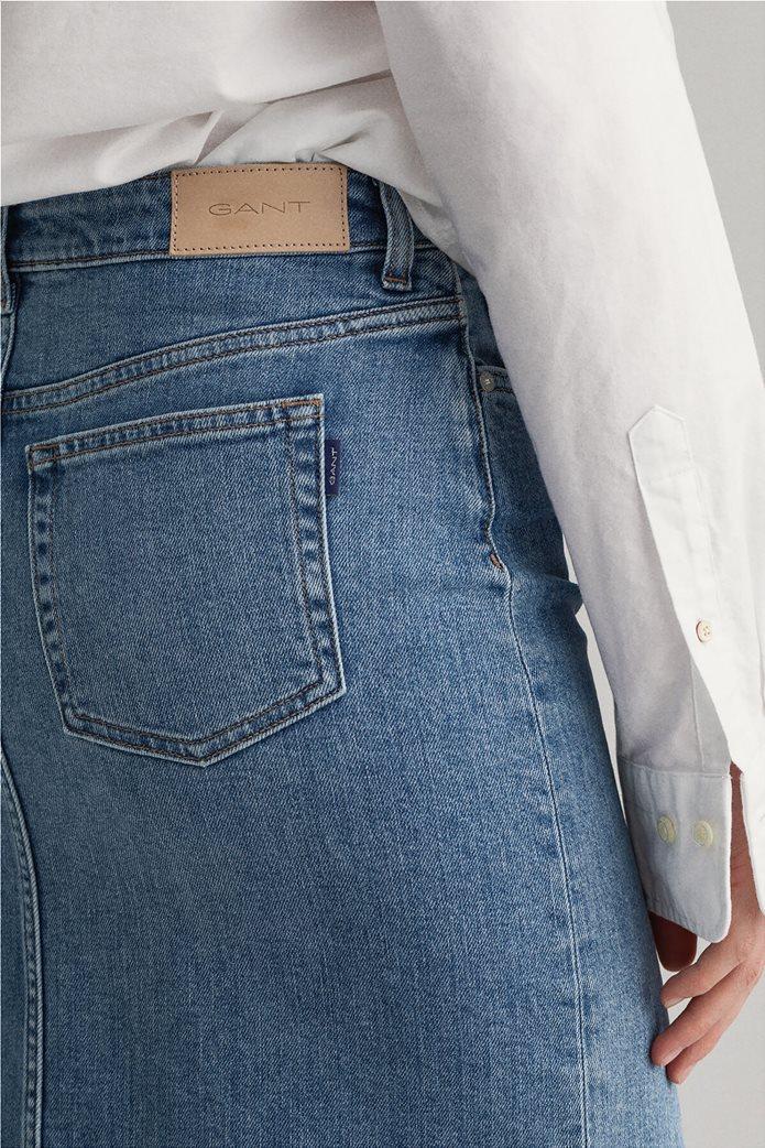 Gant γυναικεία denim φούστα πεντάτσεπη 5