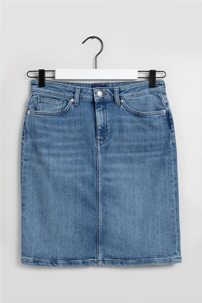 Gant γυναικεία denim φούστα πεντάτσεπη 6