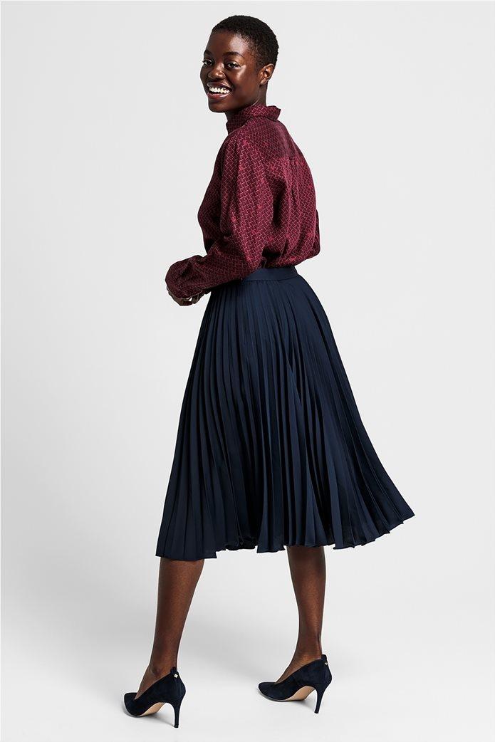 Gant γυναικεία midi φούστα πλισέ μονόχρωμη 1