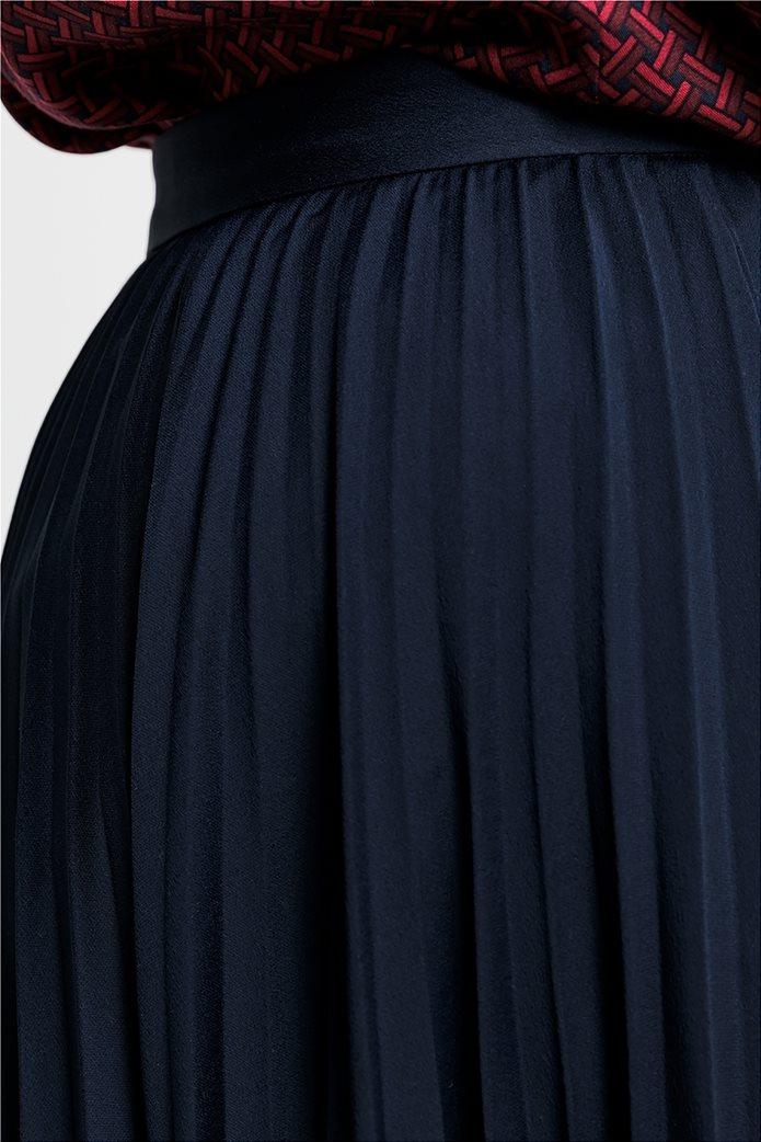 Gant γυναικεία midi φούστα πλισέ μονόχρωμη 2
