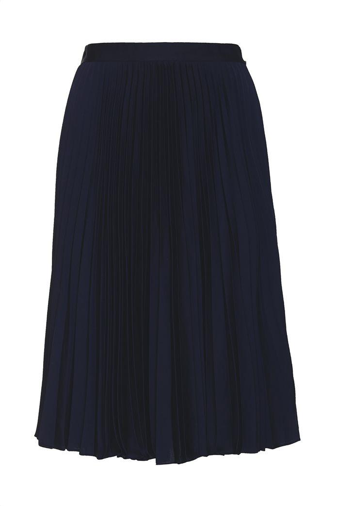 Gant γυναικεία midi φούστα πλισέ μονόχρωμη 4