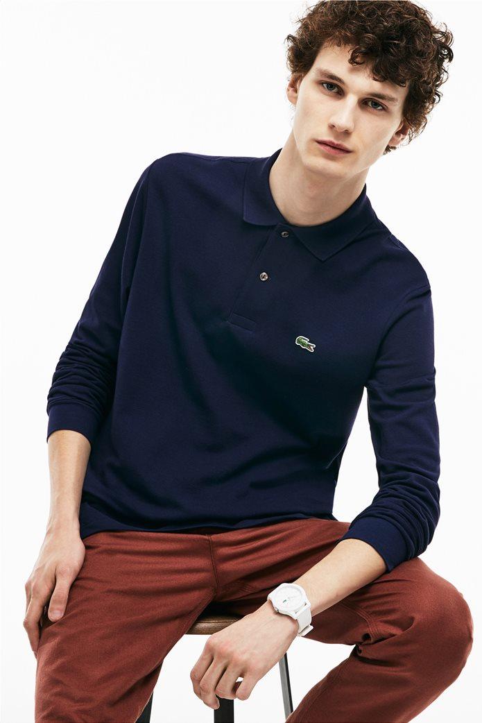 Lacoste ανδρική μπλούζα polo με μακρύ μανίκι 0
