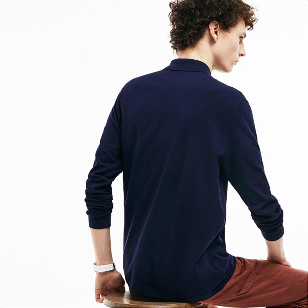 Lacoste ανδρική μπλούζα polo με μακρύ μανίκι 1
