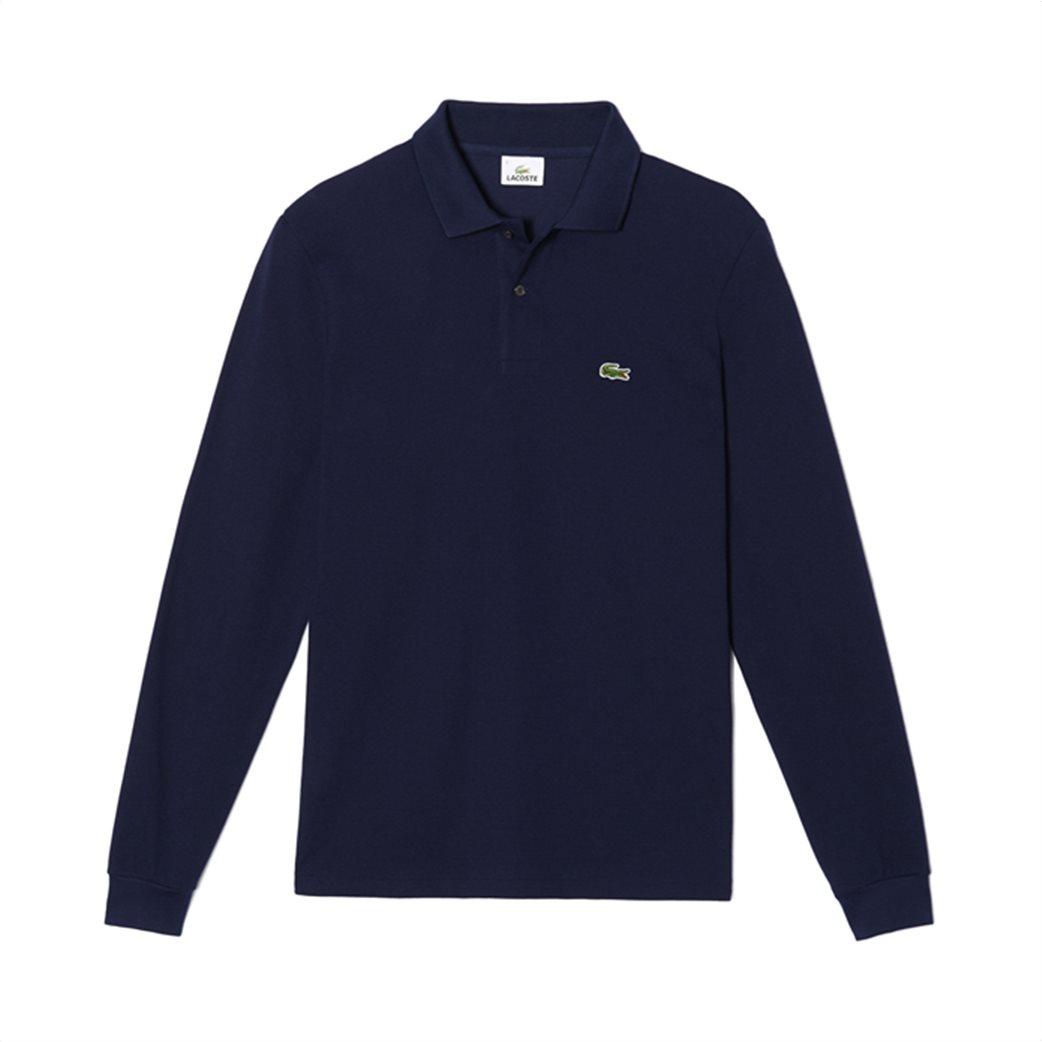 Lacoste ανδρική μπλούζα polo με μακρύ μανίκι 3